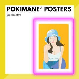 Pokimane Posters