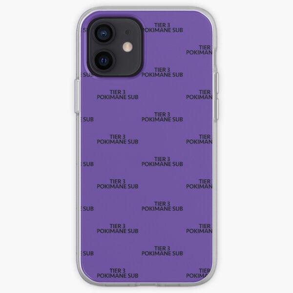 TIER 3 POKIMANE SUB iPhone Soft Case RB2205 product Offical Pokimane Merch