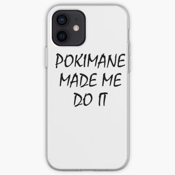 POKIMANE MADE ME DO IT iPhone Soft Case RB2205 product Offical Pokimane Merch