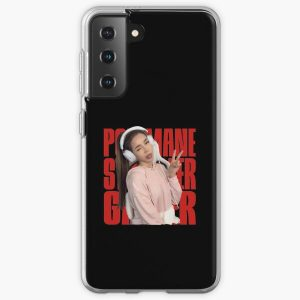 Pokimane - pokimanelol Fan Gift Samsung Galaxy Soft Case RB2205 product Offical Pokimane Merch