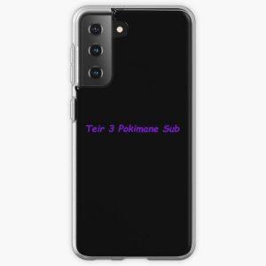 Funny Teir 3 Pokimane Sub meme design Samsung Galaxy Soft Case RB2205 product Offical Pokimane Merch