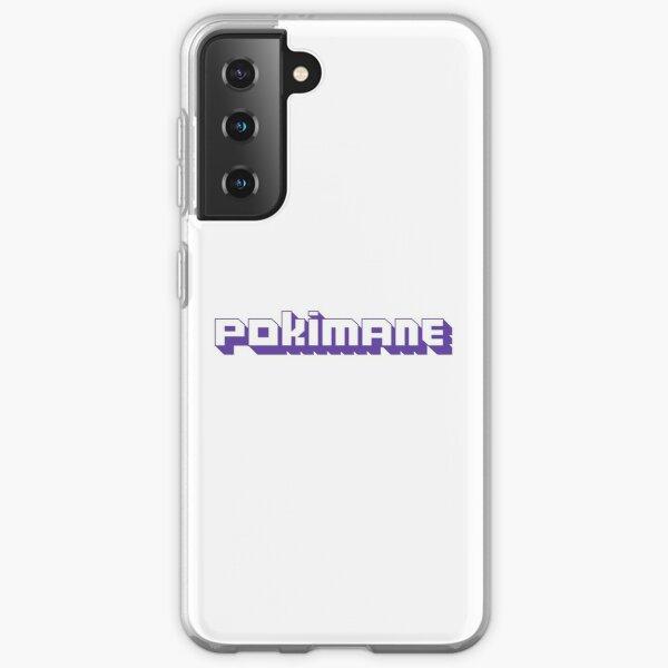 Leafy Pokimane Stream ( Offline tv ) Samsung Galaxy Soft Case RB2205 product Offical Pokimane Merch