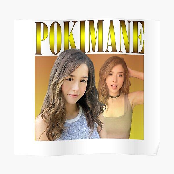 Pokimane Poster RB2205 product Offical Pokimane Merch