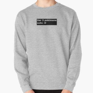 Pokimane tier 3 subs Pullover Sweatshirt RB2205 product Offical Pokimane Merch