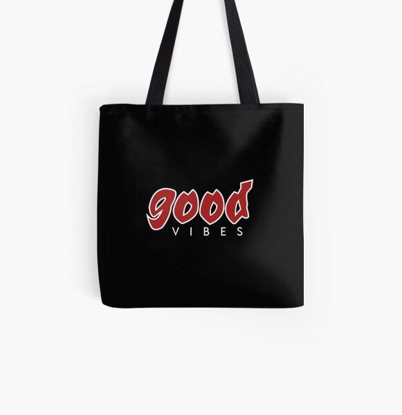 Good vibes, Pokimane , Pokimane&x27;s club, pokimane fan club  All Over Print Tote Bag RB2205 product Offical Pokimane Merch
