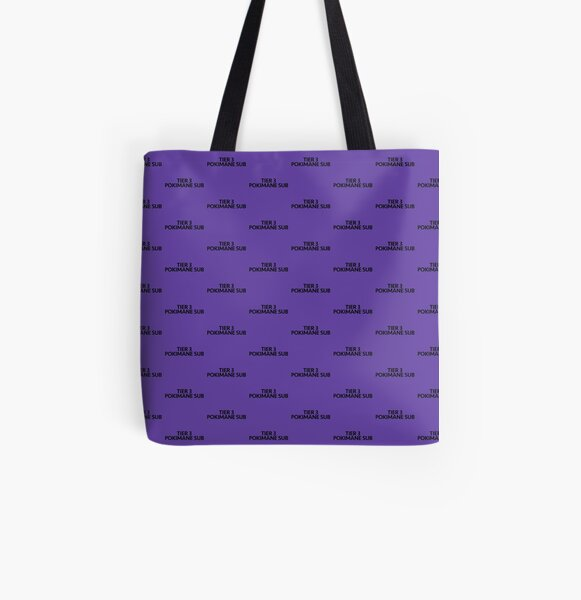 TIER 3 POKIMANE SUB All Over Print Tote Bag RB2205 product Offical Pokimane Merch