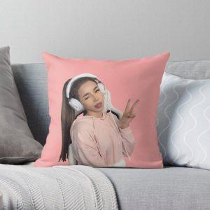 pokimane - pokimanelol Fan Gift Throw Pillow RB2205 product Offical Pokimane Merch