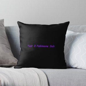 Funny Teir 3 Pokimane Sub meme design Throw Pillow RB2205 product Offical Pokimane Merch