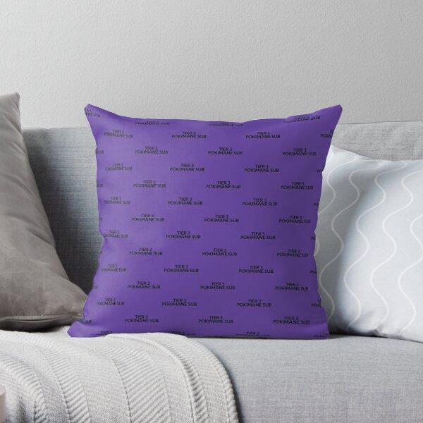 TIER 3 POKIMANE SUB Throw Pillow RB2205 product Offical Pokimane Merch
