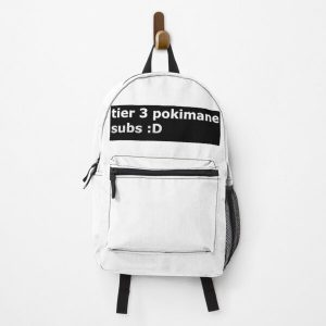 Pokimane tier 3 subs Backpack RB2205 product Offical Pokimane Merch