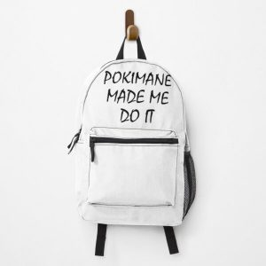 POKIMANE MADE ME DO IT Backpack RB2205 product Offical Pokimane Merch