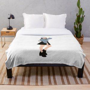Pokimane - pokimanelol  Throw Blanket RB2205 product Offical Pokimane Merch