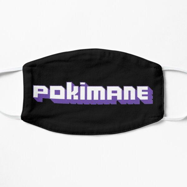 Pokimane Stream Flat Mask RB2205 product Offical Pokimane Merch